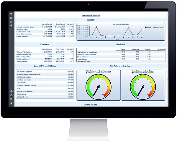 S2K Analytics App on a Desktop