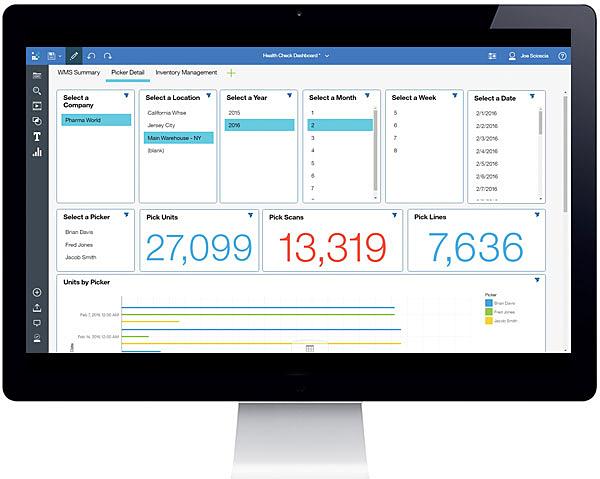 S2K Warehouse App on a Desktop